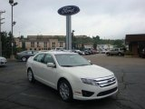 2010 White Suede Ford Fusion SE #33744630