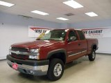 2004 Chevrolet Silverado 2500HD LS Extended Cab Data, Info and Specs
