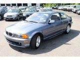 2000 Steel Blue Metallic BMW 3 Series 328i Coupe #33745479
