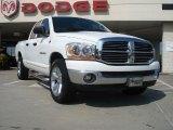 2006 Bright White Dodge Ram 1500 SLT Quad Cab #33802903