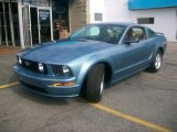 2007 Windveil Blue Metallic Ford Mustang GT Premium Coupe #33802034