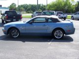 2005 Windveil Blue Metallic Ford Mustang GT Deluxe Convertible #33802733