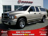 2005 Light Almond Pearl Dodge Ram 1500 SLT Quad Cab #33802376