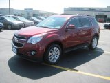2010 Cardinal Red Metallic Chevrolet Equinox LT #33802796