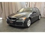 2008 Deep Green Metallic BMW 3 Series 328xi Sedan #33802125
