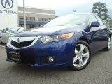 2009 Vortex Blue Pearl Acura TSX Sedan #33802135