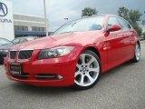2007 Crimson Red BMW 3 Series 335i Sedan #33802136