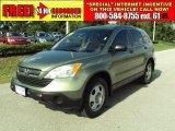 2008 Green Tea Metallic Honda CR-V LX #33803153