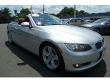 2008 Titanium Silver Metallic BMW 3 Series 335i Convertible #33802223