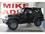 2010 Black Jeep Wrangler Sport Mountain Edition 4x4 #33802485