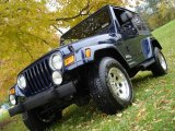 2006 Midnight Blue Pearl Jeep Wrangler X 4x4 #3369537