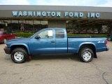 2003 Atlantic Blue Pearlcoat Dodge Dakota SXT Club Cab 4x4 #33882350
