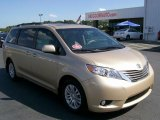 2011 Sandy Beach Metallic Toyota Sienna XLE #33882378