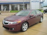 2010 Basque Red Pearl Acura TSX Sedan #33882396