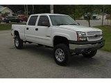 2003 Summit White Chevrolet Silverado 1500 LS Crew Cab 4x4 #33882652