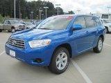 2008 Blue Streak Metallic Toyota Highlander  #33882437
