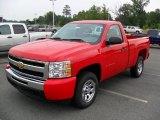 2011 Victory Red Chevrolet Silverado 1500 LS Regular Cab #33882673