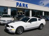 2007 Performance White Ford Mustang Shelby GT500 Coupe #33882234