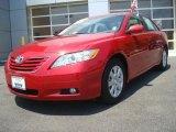 2008 Barcelona Red Metallic Toyota Camry XLE #33882084