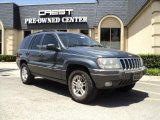 2002 Steel Blue Pearlcoat Jeep Grand Cherokee Laredo #33882473