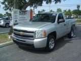 2011 Sheer Silver Metallic Chevrolet Silverado 1500 LT Regular Cab #33882094