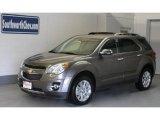 2010 Mocha Steel Metallic Chevrolet Equinox LT #33923364