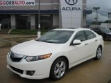 2010 Premium White Pearl Acura TSX Sedan #33923320