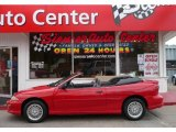 1999 Bright Red Chevrolet Cavalier Z24 Convertible #33935787