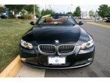 2009 Jet Black BMW 3 Series 335i Convertible #33935431