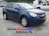 2010 Navy Blue Metallic Chevrolet Equinox LT AWD #33935944