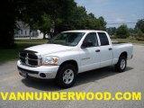 2006 Bright White Dodge Ram 1500 SLT Quad Cab #33935534