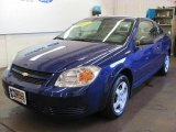 2007 Laser Blue Metallic Chevrolet Cobalt LS Coupe #33936275