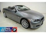 2008 Space Grey Metallic BMW 3 Series 328i Convertible #33935772