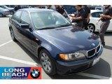 2004 Orient Blue Metallic BMW 3 Series 325i Sedan #33935774