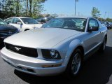 2005 Satin Silver Metallic Ford Mustang V6 Deluxe Coupe #33936284