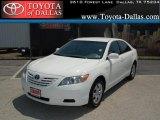2008 Super White Toyota Camry CE #33986626