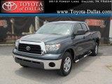 2008 Slate Gray Metallic Toyota Tundra Double Cab #33986627
