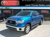 2008 Blue Streak Metallic Toyota Tundra Double Cab #33986629