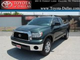 2008 Timberland Green Mica Toyota Tundra Double Cab #33986630