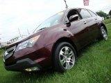 2007 Dark Cherry Red Pearl Acura MDX Technology #33985815