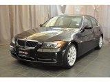 2007 Jet Black BMW 3 Series 335xi Sedan #33985879