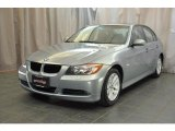 2007 Arctic Metallic BMW 3 Series 328xi Sedan #33985883