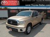 2010 Sandy Beach Metallic Toyota Tundra Double Cab #33986738