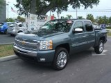2010 Blue Granite Metallic Chevrolet Silverado 1500 LT Crew Cab #33986753