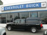 2008 Black Chevrolet Silverado 1500 Work Truck Extended Cab 4x4 #33986778
