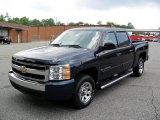 2008 Dark Blue Metallic Chevrolet Silverado 1500 LT Crew Cab #33987398