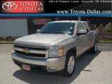 2008 Graystone Metallic Chevrolet Silverado 1500 LT Extended Cab #33986590