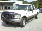 2004 Oxford White Ford F250 Super Duty XLT Crew Cab 4x4 #33987527