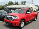 2007 Radiant Red Toyota Tundra Limited Double Cab 4x4 #33986993