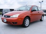 2005 Blazing Copper Metallic Ford Focus ZX3 SE Coupe #34095680